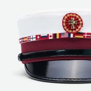 Flag student hat